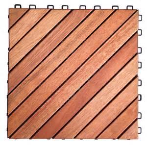 vifah 174 eucalyptus straight 12 slat interlocking wood