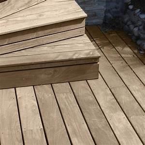Lame De Bois Pour Terrasse : lame de terrasse bois exotique ipe 3400x140x21 ~ Premium-room.com Idées de Décoration