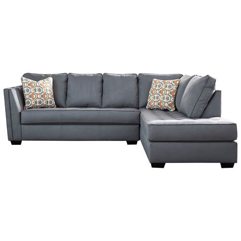 Contemporary Sofa Company by Signature Design By Filone Contemporary Sectional
