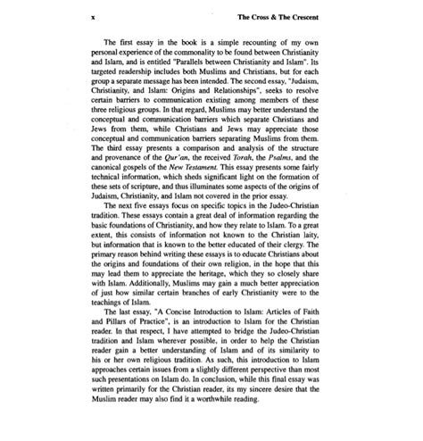 Christianity Islam Comparison Essay by Student Essays Essay On Christianity