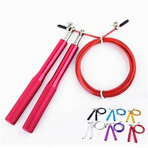 3 Meters Wire Skipping Rope Adjustable Steel Wire Rope For