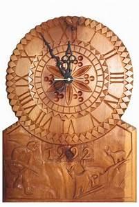 Uhren Aus Holz : aus holz geschnitzte uhr ervin monn als kunstdruck oder handgemaltes gem lde ~ Whattoseeinmadrid.com Haus und Dekorationen