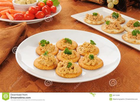 pate canapes lobster pate canapes royalty free stock image image