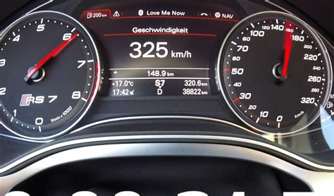Going Over 200 Mph In Audi Rs7 On The Autobahn