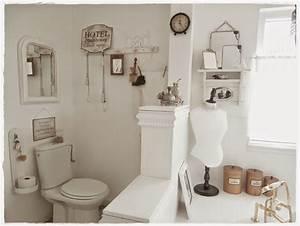 Badezimmer Shabby Chic : ein badezimmer im shabby schick landhaus stil vereint den retro look mit gem tlichem flair ~ Sanjose-hotels-ca.com Haus und Dekorationen