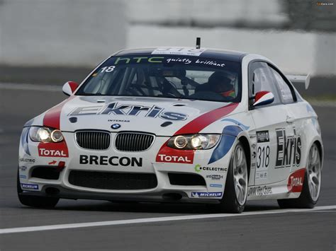 Bmw M3 Gt4 Customer Sports Car (e92) 2009 Wallpapers