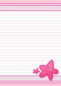 6 best images of pretty letter templates free printable With pretty letter paper