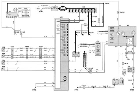 volvo c70 1999 wiring diagrams brake control carknowledge