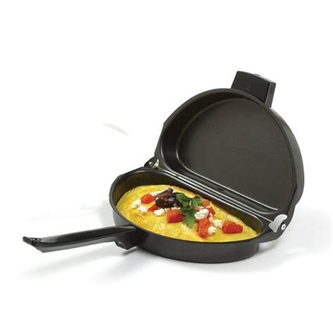 Cooking Norpro Nonstick Omelet Pan