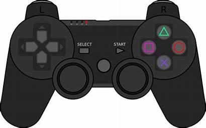 Controller Clip Svg Clipart Vector Clker Gamepad