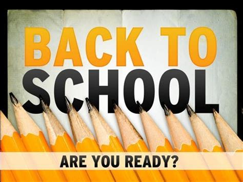 Are You Ready For Back To School? Pictures, Photos, And