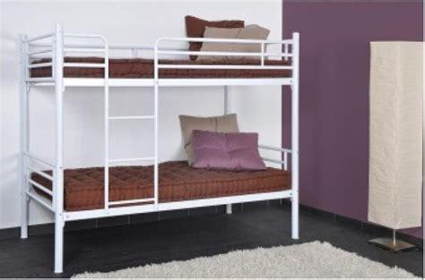 lits superposés séparables lit design pas cher lit capitonn 233 simili cuir lit relevable page 1