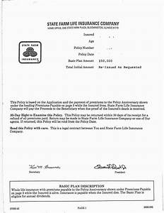 state farm letter of With letter of experience auto insurance sample