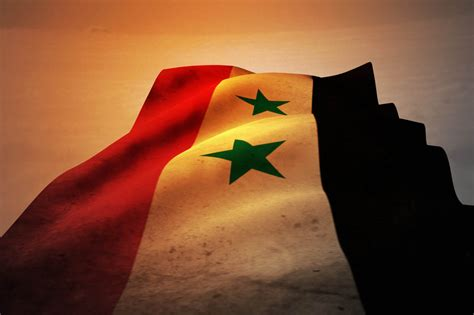 syria flag wallpaper