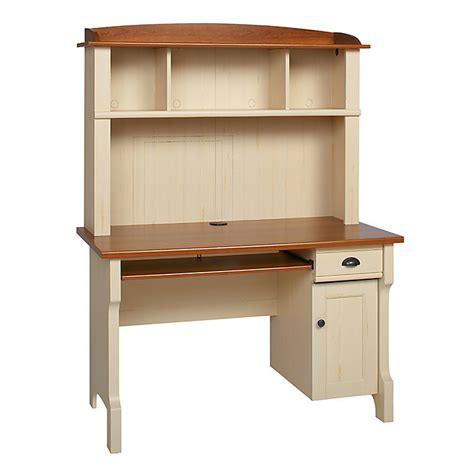 Realspace Shore Mini Solutions Computer Desk With Hutch