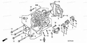 Honda Scooter 2012 Oem Parts Diagram For Cylinder Head