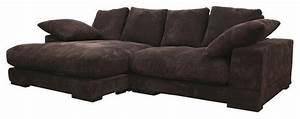 brown velvet microfiber upholstery with reversible chaise With microfiber velvet sectional sofa