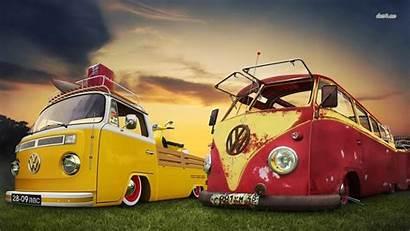 Bus Volkswagen Vw Camper Transporter Lowrider Wallpapers