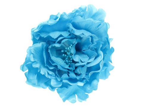 light blue flowers light blue flower hair clip buy 1 get 1 free
