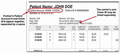 Claim Number Examples Pcc Learn Eobs Reports