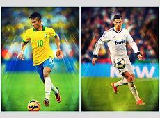 Neymar VS Cristiano Ronaldo The Fight YouTube