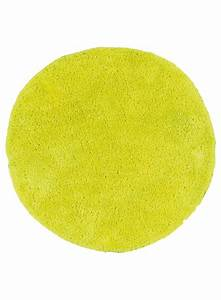 les tapis fluo rond jaune With tapis rond jaune