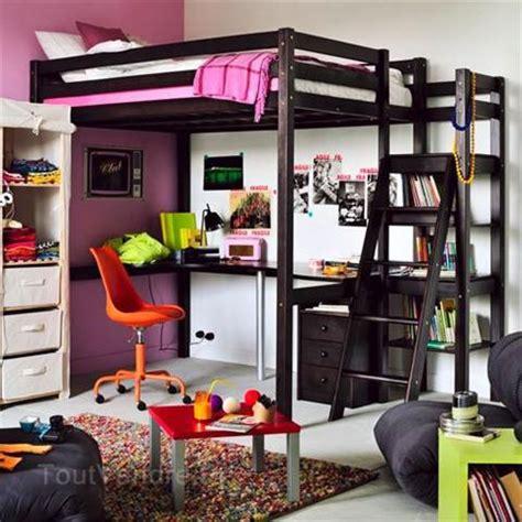 armoire chambre adulte pas cher lit 2 personnes mezzanine