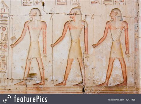 Image Of Three Ancient Egyptian Priests