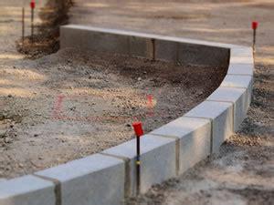 beton für randsteine randsteine setzen anleitung zum verlegen und verfugen