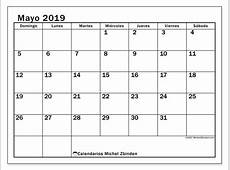 Calendarios mayo 2019 DS Michel Zbinden ES