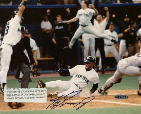 deck ken griffey jr 1995 lot detail ken griffey jr signed 8 quot x 10 quot 1995 quot the