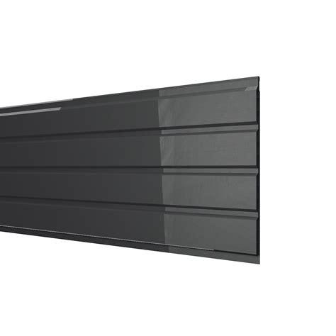 pvc exterieur sous toiture sous de toiture noir pvc l 3 m leroy merlin