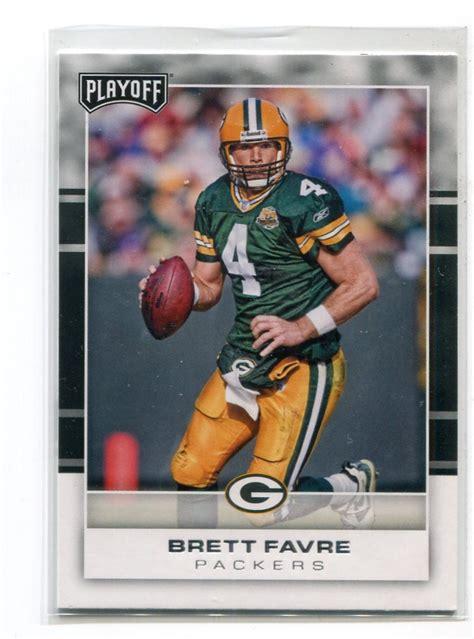 Brett Favre 2017 Panini Playoff 130 Green Bay Gb Packers