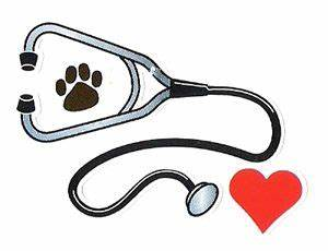 I like the stethoscope with the paw print and the heart ...