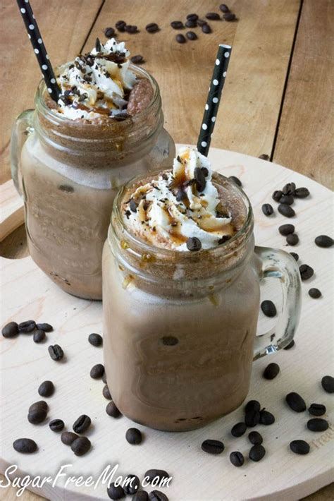 You'd need to walk 25 minutes to burn 90 calories. Sugar Free Caramel Mocha Iced Coffee | Recipe | Frozen ...