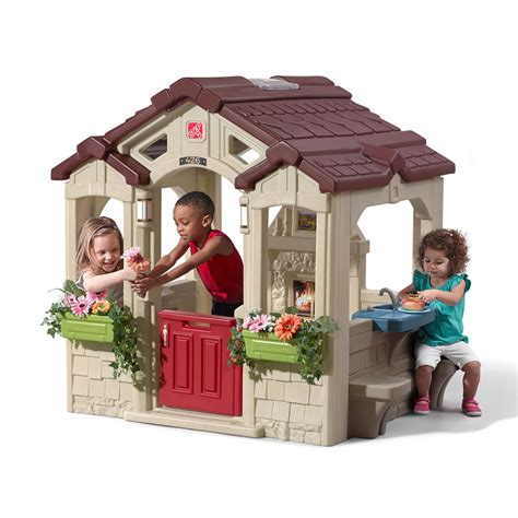 cottage playhouse charming cottage playhouse step2