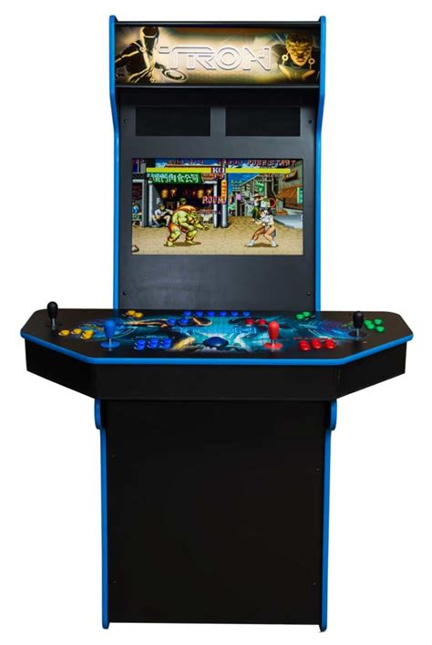 mame cabinet plans 4 player four player upright arcade cabinet ultimate home arcade