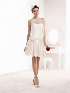 Robe Mariee Courte : robe pour mariage champetre ~ Melissatoandfro.com Idées de Décoration