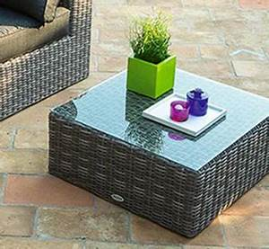 Table Basse Resine Tressee : table basse de jardin hesp ride pas cher ~ Teatrodelosmanantiales.com Idées de Décoration