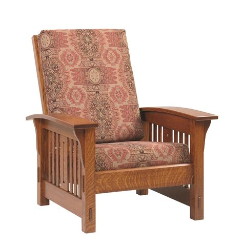 Amish Morris Chair Recliner by Amish Morris Mission Lounge Chair