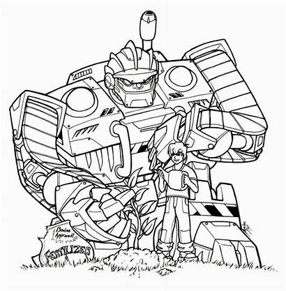 Rescue Bots Coloring Pages Transformer