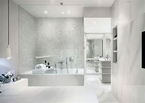 carrelage salle de bain effet marbre With calcaire carrelage salle de bain