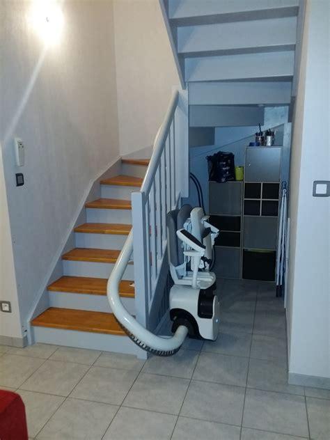 siege monte escalier monte escalier droit et monte escalier courbe pour
