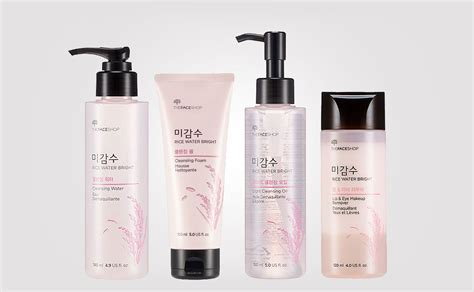 korean product  thefaceshop rice water bright