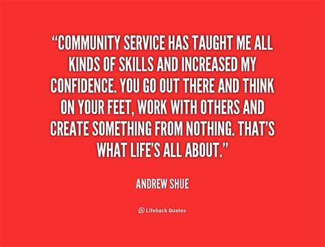 Service Quotes by Great Quotes About Community Service Quotesgram