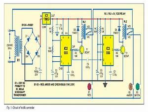 1  Main Circuit Diagram Of Traffic Controller