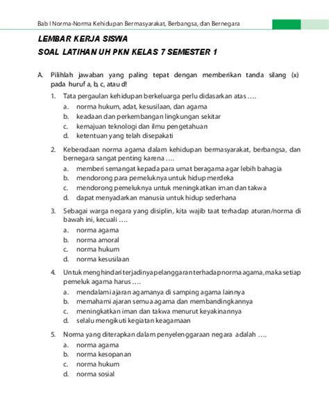 Oleh jayusdiposting pada maret 31, 2019. Contoh Soal Hots Pkn Smp Kelas 8 - Kunci Ujian