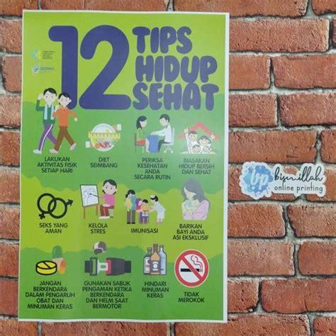 Kesehatan bumil balita merupakan blog kesehatan yang memberikan informasi tentang kehamilan, balita, kesehatan, penyakit dan tips kesehatan untuk anda. Poster 12 tips hidup sehat | Shopee Indonesia