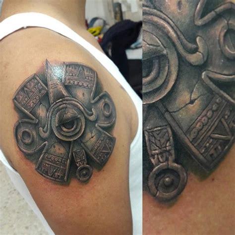 stone tattoo designs  men carved rock ink ideas