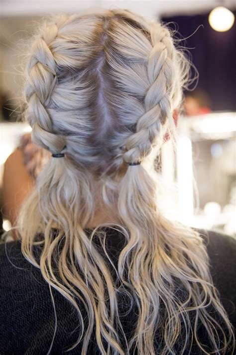 double french plaits honestly wtf